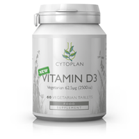Vitamin D3 (Vegetarian) 60 Tablets